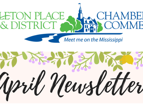 FrontSide spotting: Carleton Place & District Chamber of Commerce newsletter